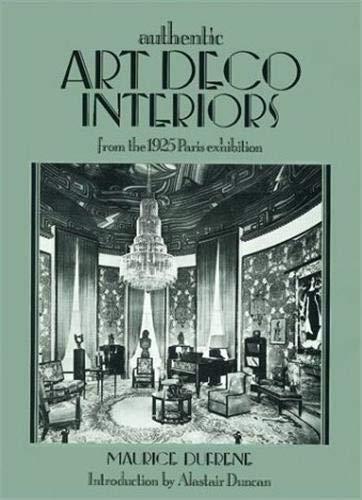 9781851491193: Art Deco Interiors: From the 1925 Paris Exhibition