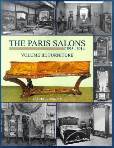 9781851491902: Paris Salons Vol 3: Furniture (Paris Salons, 1895-1914)
