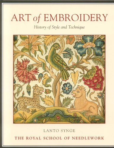 9781851493593: Art of Embroidery: History of Style and Technique