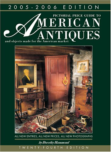9781851494859: Pictorial price guide to American antiques and objects made for the American market