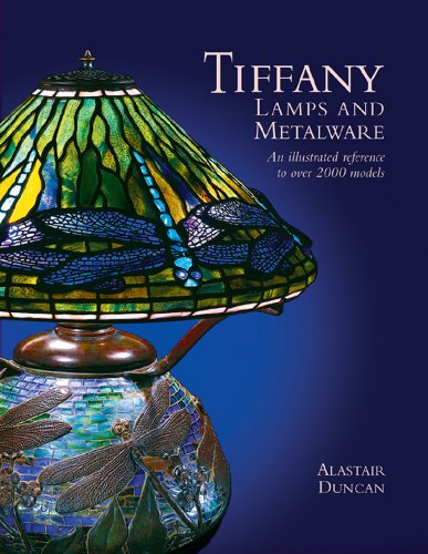 9781851495177: Tiffany Lamps and Metalware: An Illustrated Reference to Over 2000 Models