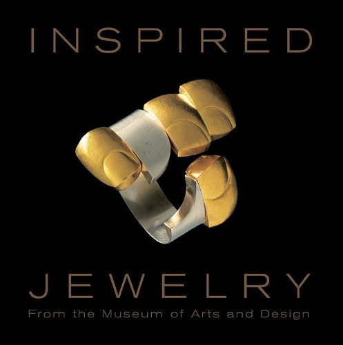 Inspired Jewelry 9781851495788 This lavishly illustrated book presents outstanding examples of one-of-a kind jewelry from the 1940s to the present drawn from the collection of the Museum of Arts & Design in New York. The 288 pages guide the reader through a fascinating diversity of materials, technique and approaches that make contemporary jewelry visually exciting and intellectually stimulating. No longer dependent on gold and gemstones, these creations demonstrate that commonplace aluminum, rubber, glass, paper, thumbtacks, and even salvaged gun triggers can be made into dazzling jewelry. The international nature of today's jewelry is fully represented with established luminaries as well as emerging artists in the field from the United States, Europe, Asia and Australia including Gijs Bakker, Robert Ebendorf, Hermann Jünger, Sam Kramer, Otto Künzli, Linda MacNeil, Margaret DePatta, Bruno Martinazzi, Giò Pomodoro, Wendy Ramshaw, Art Smith, Kiff Slemmons, David Watkins, and Anna Maria Zanella. The book contains a foreword by Holly Hotchner, Director of the Museum of Arts & Design; essay by Ursula Ilse-Neuman, Jewelry Curator of the Museum of Arts & Design, surveying major trends in contemporary jewelry over the past 75 years; and over 200 full-color illustrations of works from the Museum's Permanent Collection.