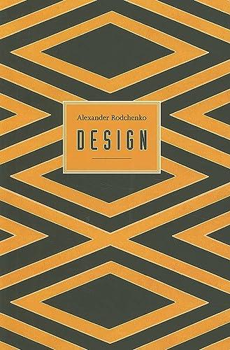 9781851495917: Rodchenko: Design