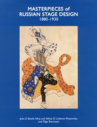 Masterpieces of Russian Stage Design: 1880-1930: Nina D. Lobanov-Rostovsky,