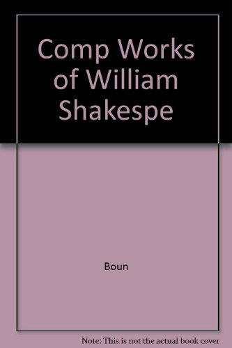 9781851521005: The complete works of William Shakespeare