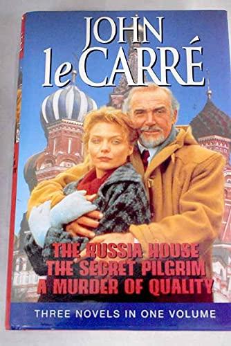 "John Le Carre Omnibus: ""Russia House"", ""Secret Pilgrim"", ""Murder of Quality""..."