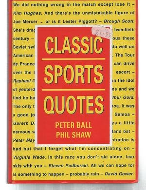 9781851525751: Classic Sports Quotes