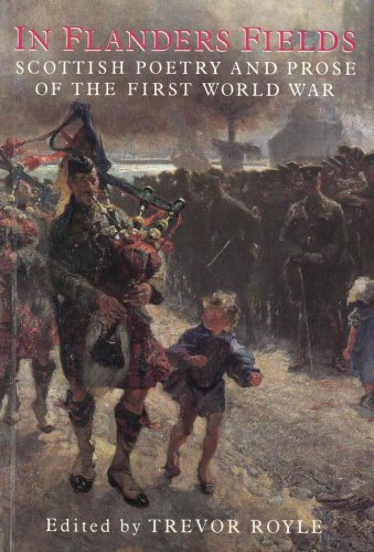 9781851583034: In Flanders Fields: Scottish Poetry and Prose of the First World War