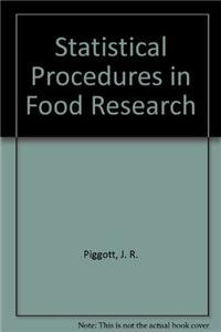 9781851660322: Statistical Procedures in Food Research