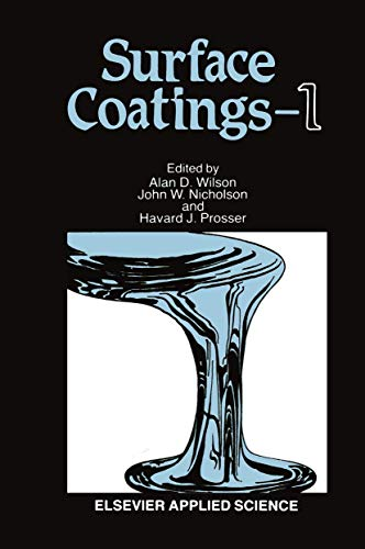 9781851660889: Surface Coatings : 1
