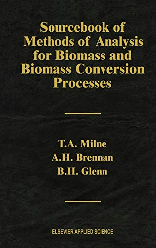 Sourcebook of Methods of Analysis for Biomass