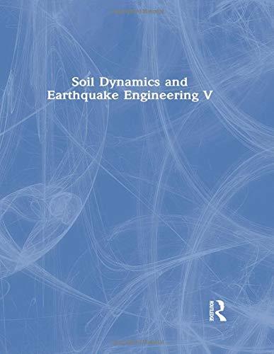 9781851666997: Soil Dynamics and Earthquake Engineering V