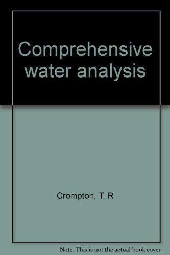9781851667512: Comprehensive Water Analysis, Vol. 1