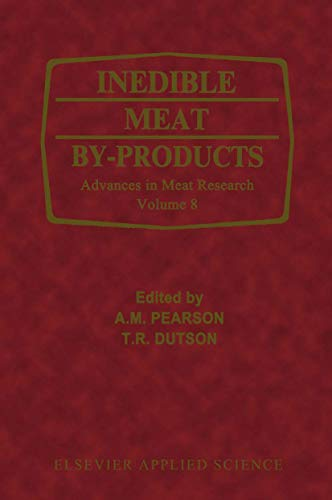 9781851667673: Inedible Meat by-Products (Advances in Meat Research)