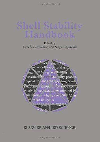 9781851669547: Shell Stability Handbook