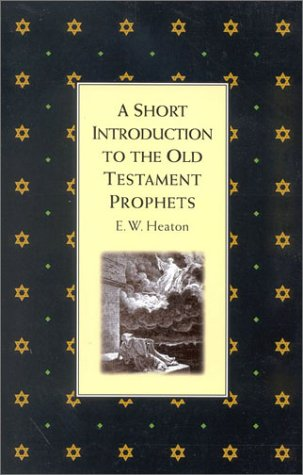 9781851681143: Short Introduction to the Old Testament Prophets