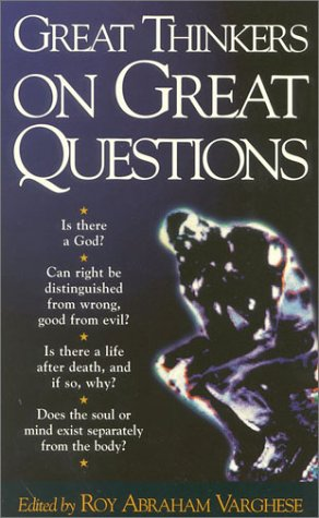 9781851681440: Great Thinkers on Great Questions