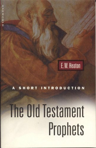 9781851682775: The Old Testament Prophets: A Short Introduction