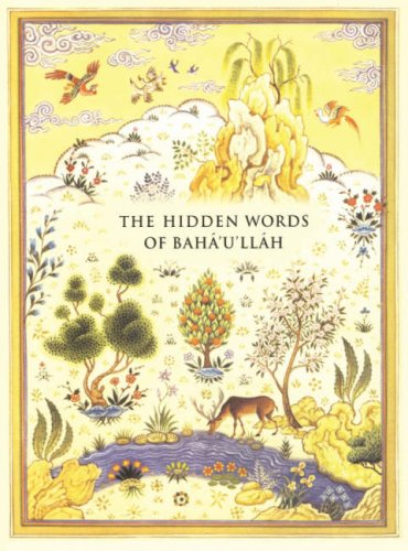 9781851683529: The Hidden Words Of Baha'U'Llah