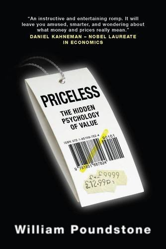 9781851687824: Priceless: The Hidden Psychology of Value