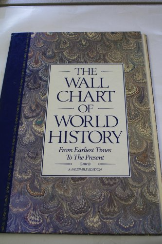 9781851701490: The Wall Chart of World History: From Earliest Times to the Present