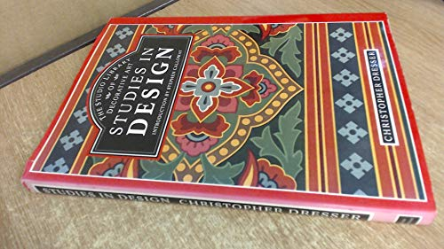 Studies in Design (The Studio library of: Dresser, Christopher