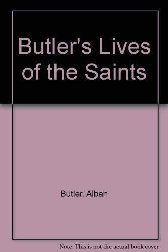 9781851702732: Butler's Lives of the Saints