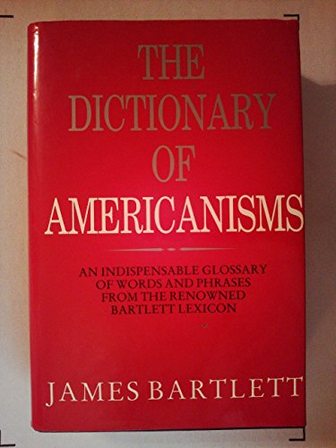 9781851703753: 'DICTIONARY OF AMERICANISMS, THE'