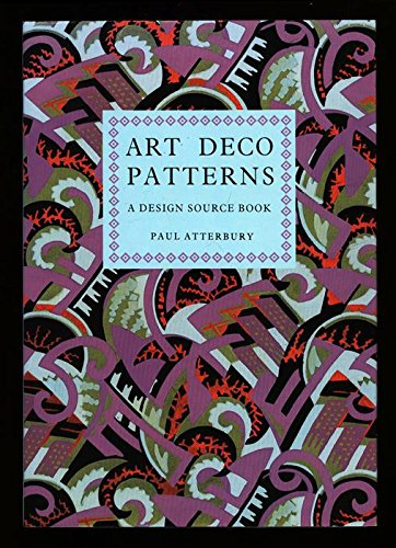 Art Deco Patterns : A Design Source Book