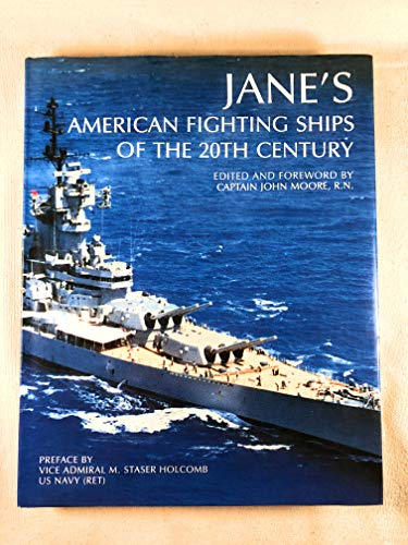 9781851707379: Jane's American Fighting Ships of the 20th Century