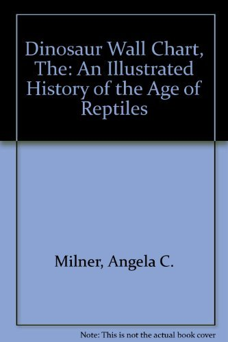9781851709854: Dinosaur Wall Chart: An Illustrated History of the Age of Reptiles