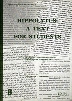 9781851740567: Hippolytus: A Text for Students (Joint Liturgical Studies)