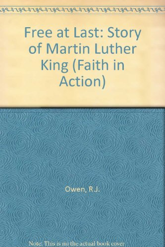 9781851750122: Free at Last: Story of Martin Luther King (Faith in Action)