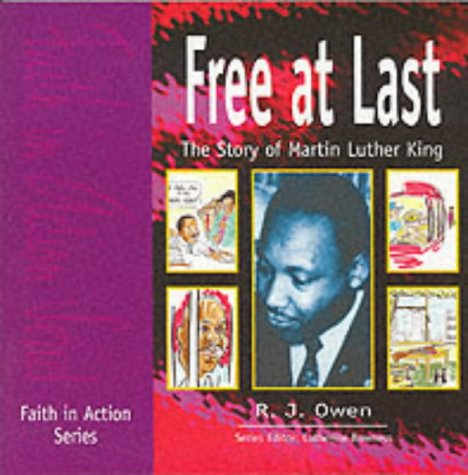 9781851751334: Free at Last: Story of Martin Luther King (Faith in Action)