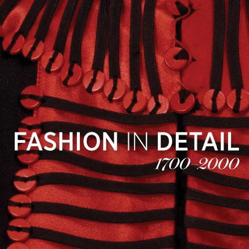 9781851777686: Fashion in Detail 1700-2000