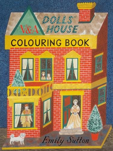 9781851778058: The Dolls' House Colouring Book