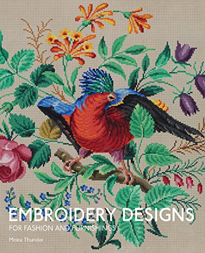 9781851778140: Embroidery Designs for Fashion and Furnishings: From the Victoria and Albert Museum