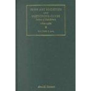 Irish Art Societies and Sketching Clubs: Index of Exhibitors, 1870-1980: Stewart, Ann M.