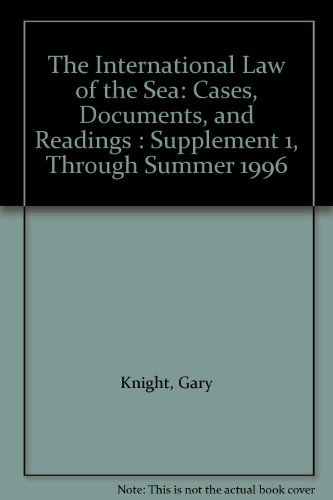 9781851822966: International Law of the Sea (Supplement 1)