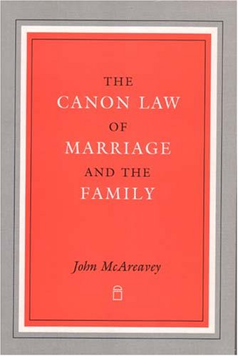 9781851823567: Canon Law of Marriage and the Family