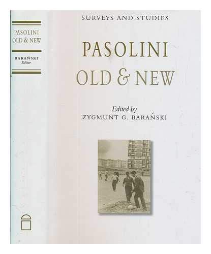 9781851824366: Pasolini Old and New: Surveys and Studies (Publications of the Foundation for Italian Studies, Universi)