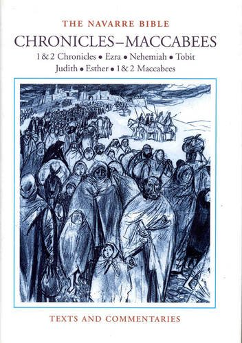 9781851826773: Navarre Bible Chronicles-Maccabees