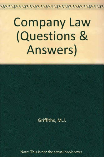 9781851850181: Company Law (Questions & Answers)