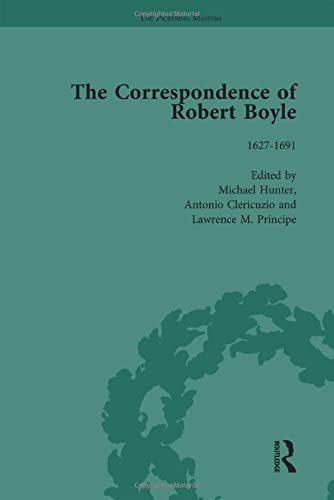 9781851961252: The Correspondence of Robert Boyle (The Pickering Masters)