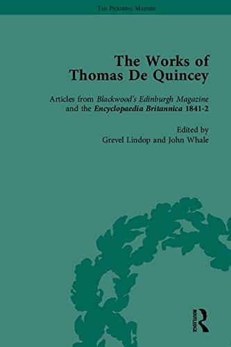 The Works of Thomas De Quincey, Part II: LINDOP, GREVEL