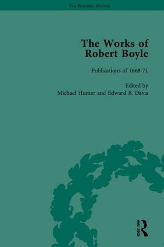 9781851965229: The Works of Robert Boyle, Part I (The Pickering Masters) (Pt I, v. 1-7)