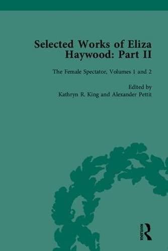 9781851965298: Selected Works of Eliza Haywood, Part II (Pt. 2)