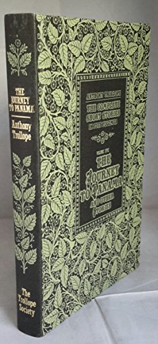 9781851967049: Anthony Trollope: the Complete Short Stories in Five Volumes: The Journey to Panama and Other Stories Vol 5
