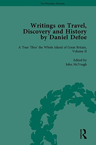 9781851967186: Writings on Travel, Discovery and History by Daniel Defoe, Part I (The Pickering Masters) (Pt. I, v. 1-4)