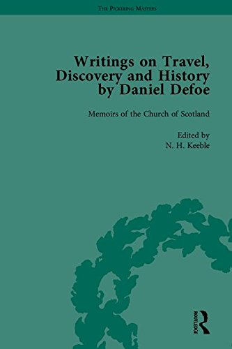9781851967230: 5-8: Writings on Travel, Discovery and History by Daniel Defoe, Part II (The Pickering Masters)
